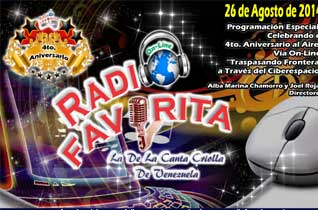 4to Aniversario Radio Favorita