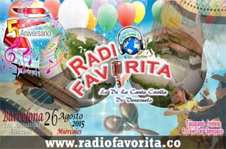 5to Aniversario Radio Favorita