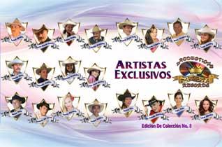 8ª. Edición de Artistas Exclusivos de ´Productions Favorita Records´