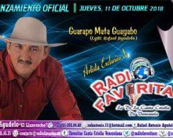 Lanzamiento Promocional de Rafael Agudelo ´El Llaneracho' – Guarapo Mata Guayabo