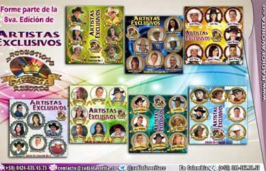 8° Edición de Artistas Exclusivos de «Productions Favorita Records»
